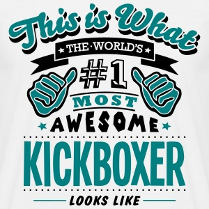 kickboxer world no1 most awesome T-SHIRT - Men's T-Shirt