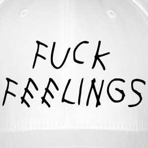 Fuck feelings Caps & Hats - Flexfit Baseball Cap