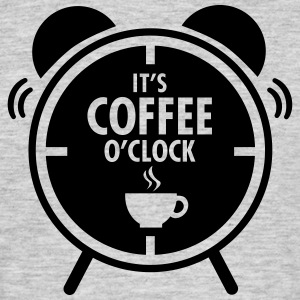 It's Coffee O'Clock T-skjorter - T-skjorte for menn