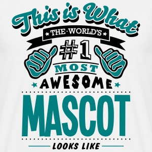 mascot world no1 most awesome T-SHIRT - Men's T-Shirt