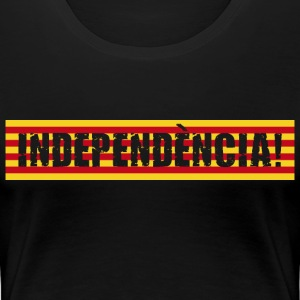 Independence of Catalonia - Women's Premium T-Shirt