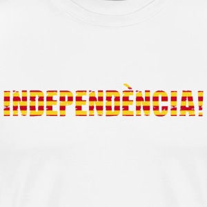 Independence of Catalonia - Men's Premium T-Shirt