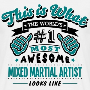mixed martial artist world no1 most awes T-SHIRT - Men's T-Shirt