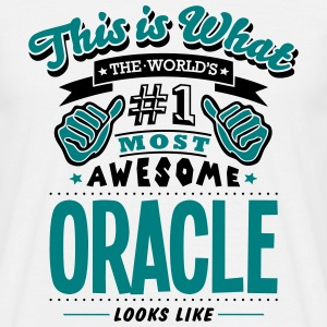 oracle world no1 most awesome T-SHIRT - Men's T-Shirt