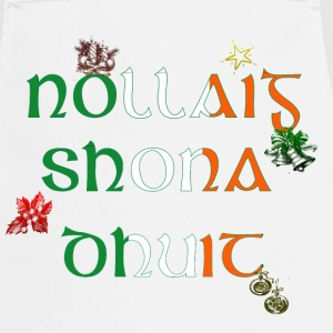 Irish Christmas Greeting Apron - Cooking Apron