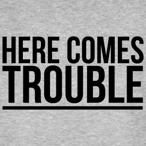 HERE COME THE PROBLEMS T-shirts - Ekologisk T-shirt herr