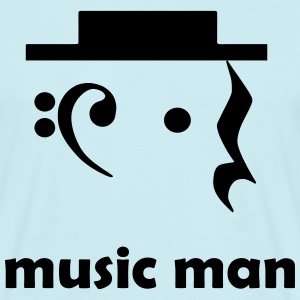 Music Man - T-skjorte for menn