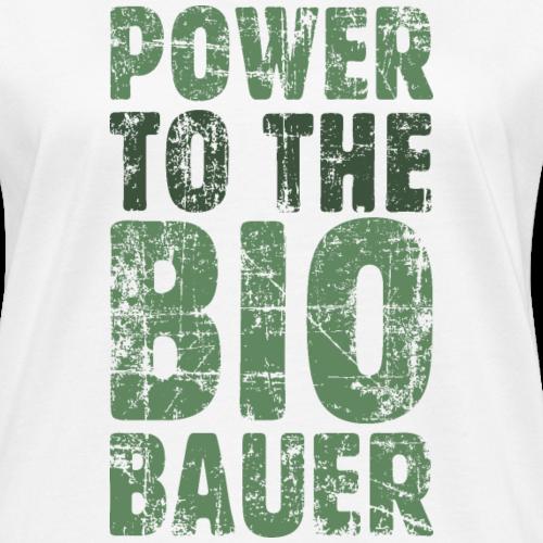 Power to the Biobauer Bio Grün Dunkel