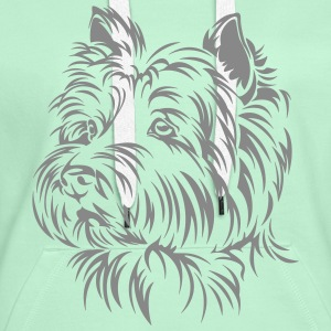West Highland Terrier Pullover & Hoodies - Frauen Premium Hoodie