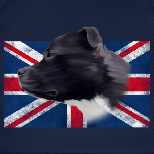 Staffbull UK grunge Flag