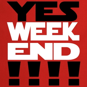 yes weekend - Tablier de cuisine