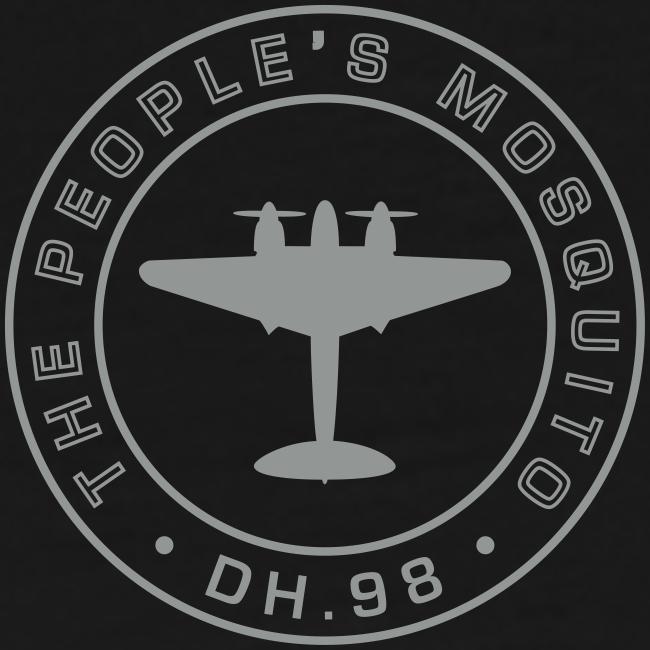 Men's Neck MP Logo T-Shirt - Black/Grey