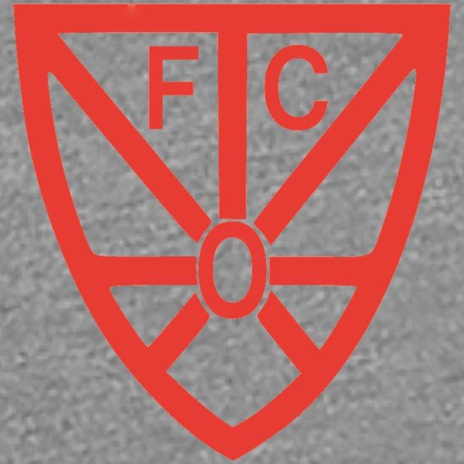 Damen Premium T-Shirt - verschiedene Farben - mit rotem FCO-Logo