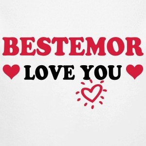 Bestemor love you 222 Babybody - Økologisk langermet baby-body