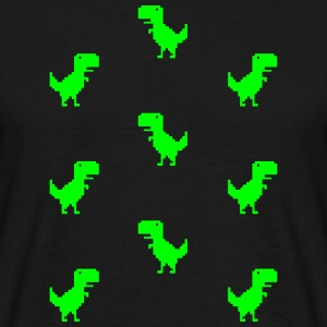 T-Rex Tessellated  T-Shirts - Men's T-Shirt