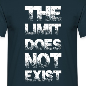 the limit does not exist T-Shirts - Men's T-Shirt