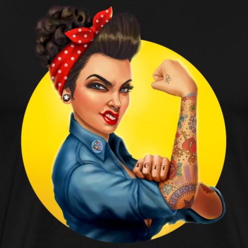 Rosie The Riveter Circle
