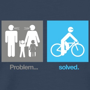 Problem Solved Cycling T-Shirt - Men's Premium T-Shirt
