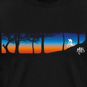 MTB Trail T Shirt - Men's Premium T-Shirt