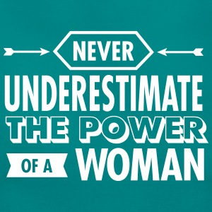 Never Underestimate The Power Of A Woman T-Shirts - Women's T-Shirt