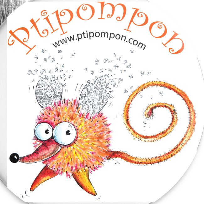 badge Ptipompon 32mm