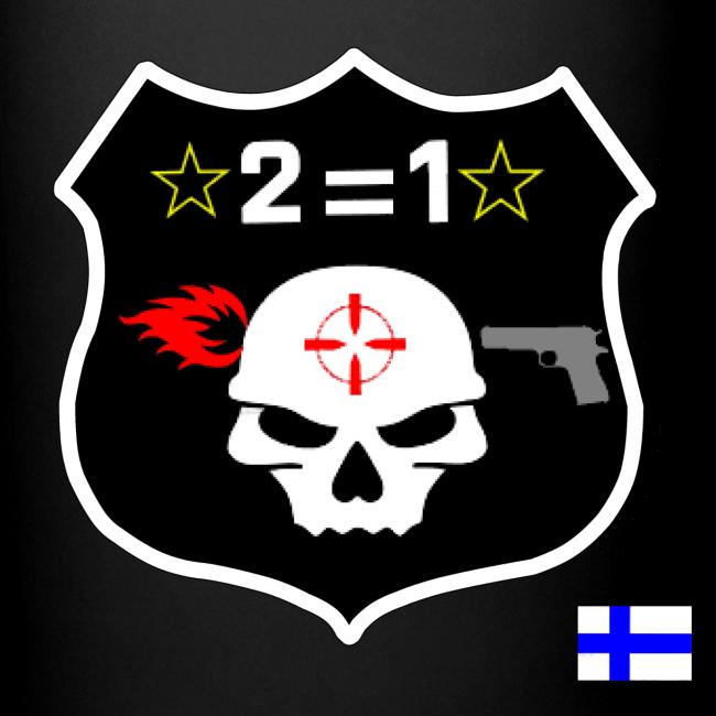 2on1 Muki, musta