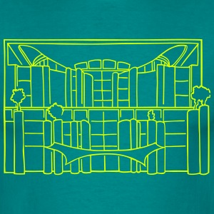 Chancellery in Berlin T-Shirts - Men's T-Shirt
