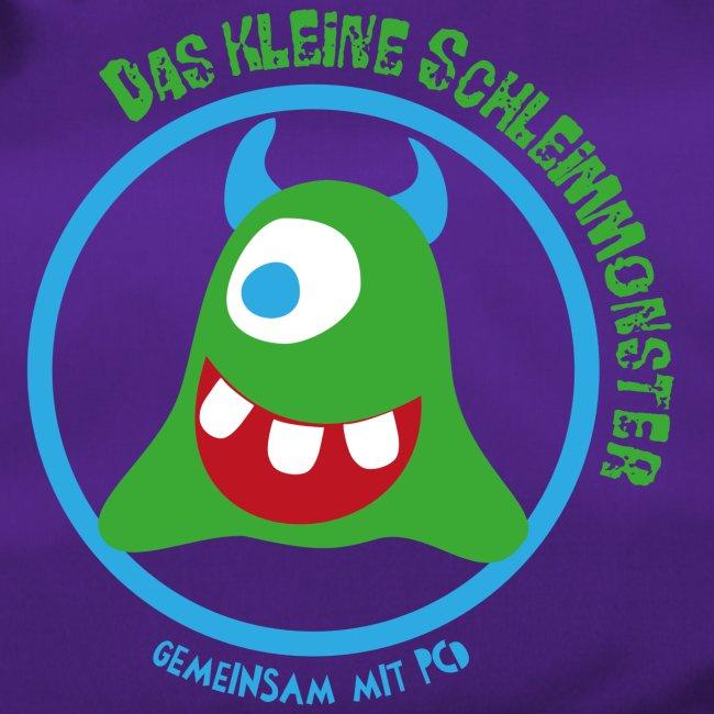 Sporttasche Schleimmonster helle Hörnchen PCD