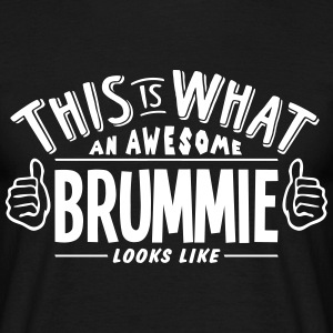 awesome brummie looks like pro design t-shirt - Men's T-Shirt