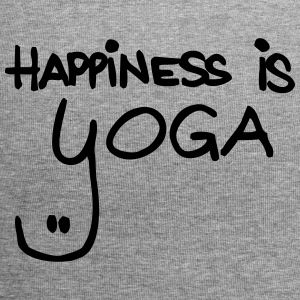 happiness is yoga - Jersey-Beanie
