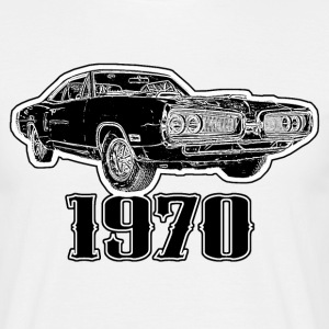 1970 US Muscle Car - Männer T-Shirt
