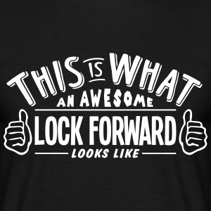 awesome lock forward looks like pro desi t-shirt - Men's T-Shirt