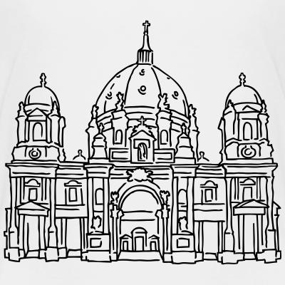 Berliner Dom, Kirche, Berlin T-shirt, T-shirt-Motive aus Berlin