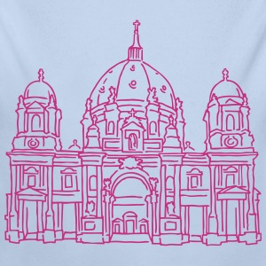 Berlin Cathedral Baby Bodysuits - Longlseeve Baby Bodysuit