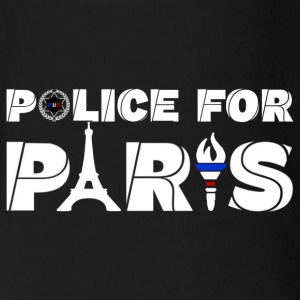 police for paris Baby Bodysuits - Organic Short-sleeved Baby Bodysuit
