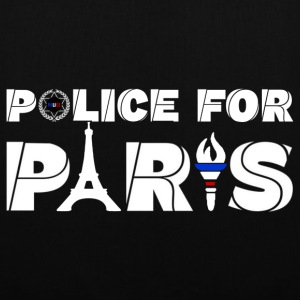 police for paris Bags & Backpacks - Tote Bag