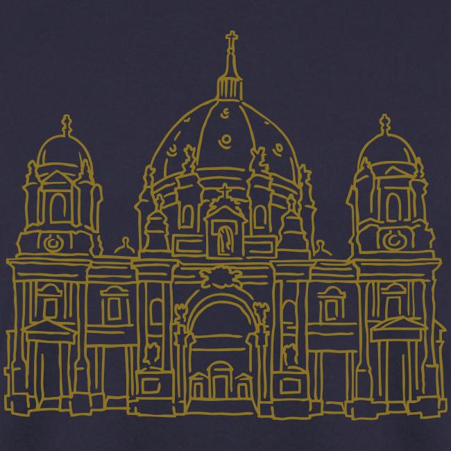 Berliner Dom (gold-metallic)