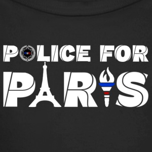 police for paris Baby Bodysuits - Longlseeve Baby Bodysuit