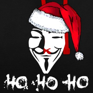 Ho Ho Ho Anonymous for Black Shirts Pullover & Hoodies - Kontrast-Hoodie