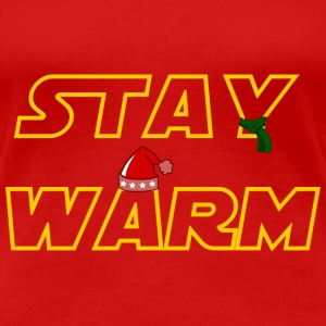Stay warm T-skjorter - Premium T-skjorte for kvinner