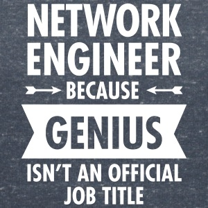 Network Engineer - Genius T-Shirts - Women's V-Neck T-Shirt