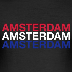 :AMSTERDAM - Männer Slim Fit T-Shirt