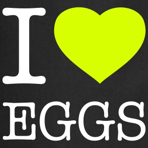 I LOVE EGGS - Cooking Apron