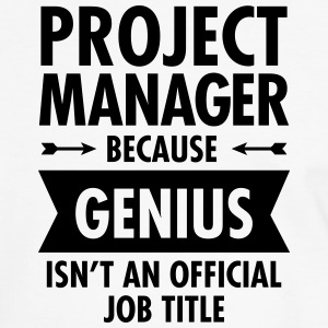 Project Manager - Genius T-shirts - Mannen contrastshirt
