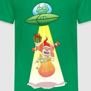 Santa Claus Abducted by an Alien Shirts - Kids' Premium T-Shirt