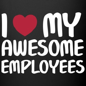 I Heart My Awesome Employees Krus & tilbehør - Ensfarvet krus