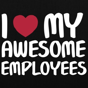 I Heart My Awesome Employees Tasker & rygsække - Mulepose