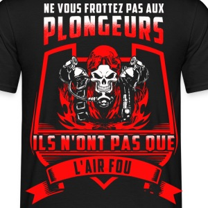 L'air fou rouge - T-shirt Homme