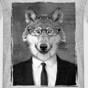 Loup costume Tee shirts - T-shirt Homme
