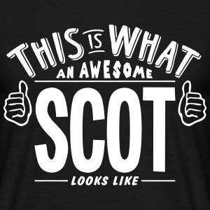 awesome scot looks like pro design t-shirt - Men's T-Shirt